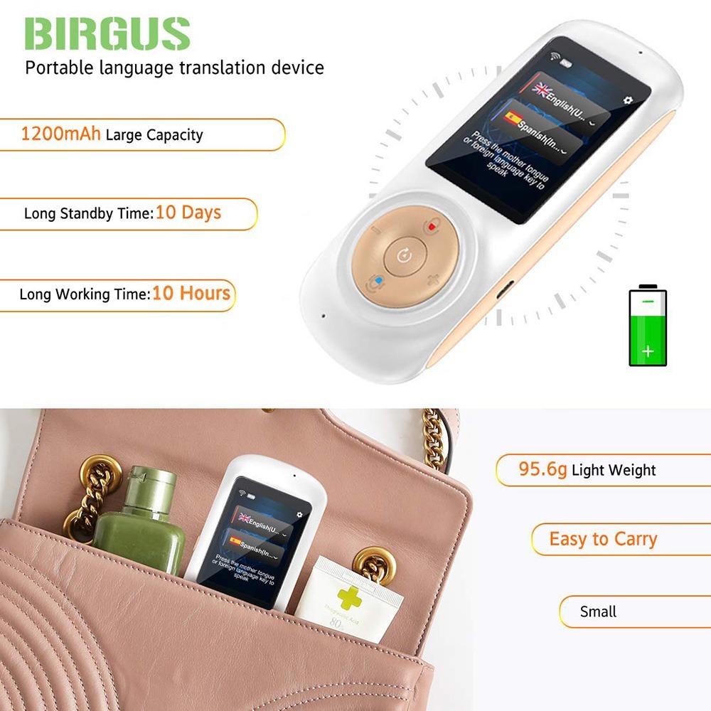 Birgus Instant Voice Language Translator 4