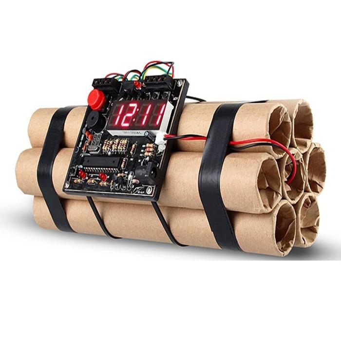 Defusable Bomb Alarm Clock 3