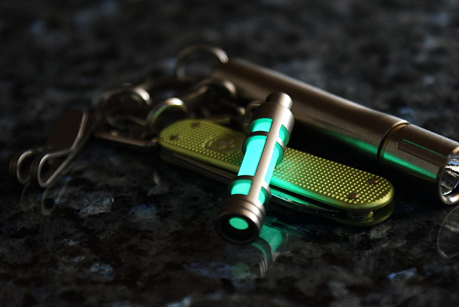 Embrite Glow In The Dark Keychain 2