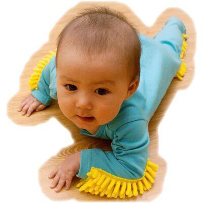 Baby Mop Onesie Unicun